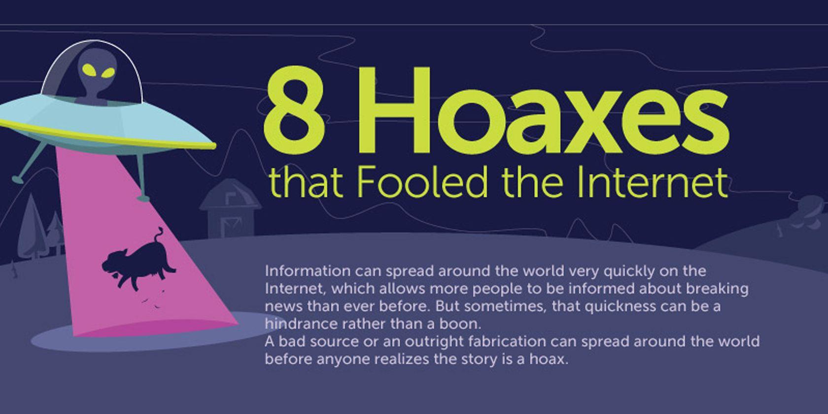 Hoaxes popular internet Top Five