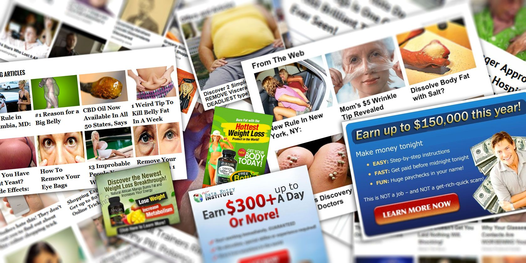 We Followed Clickbait Internet Ads: Here's What We Found