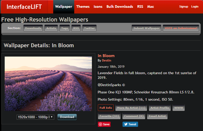 The 7 Best Sites To Download Very High Resolution Wallpapers