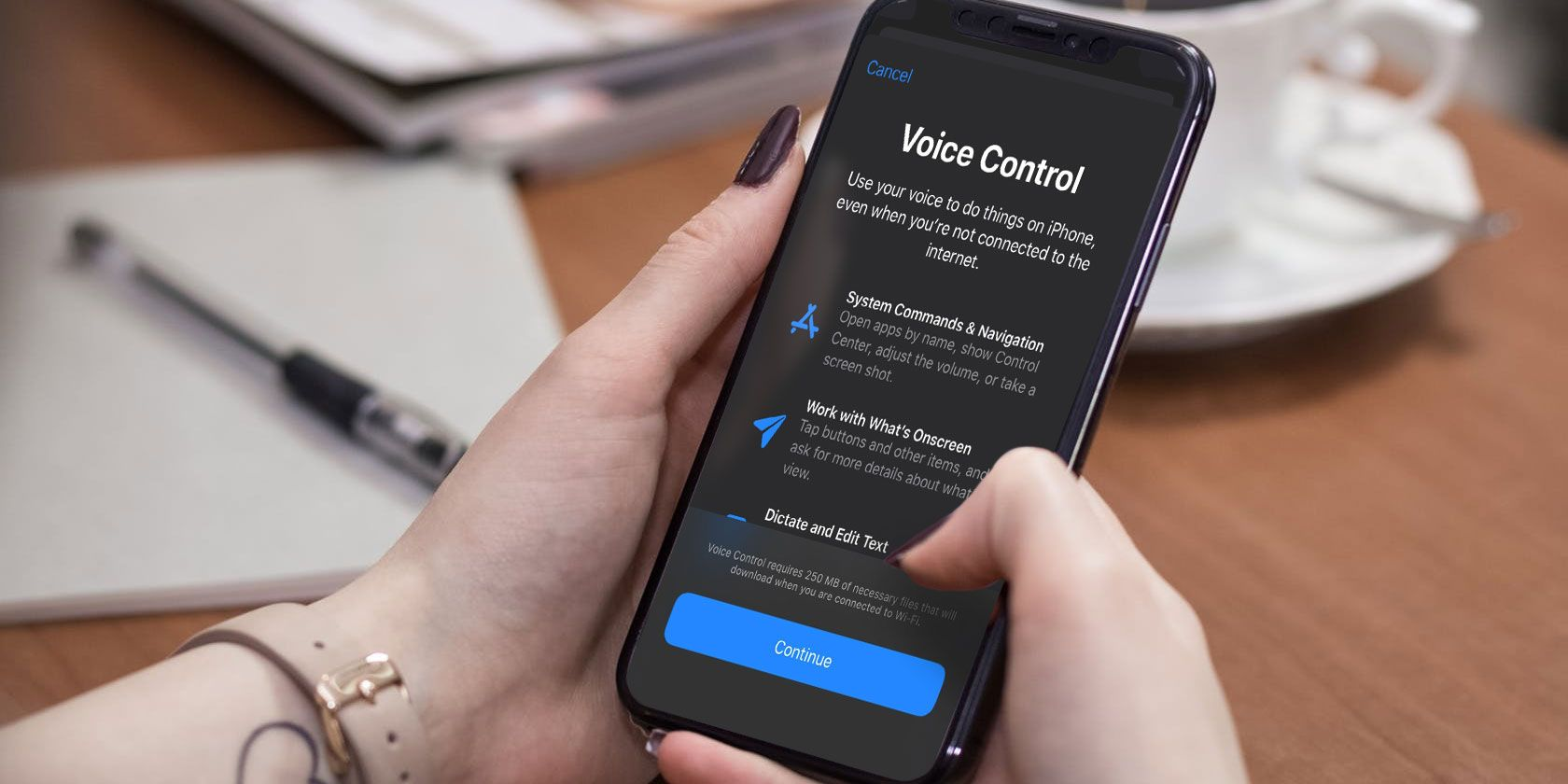 How to Unlock Your iPhone With Your Voice