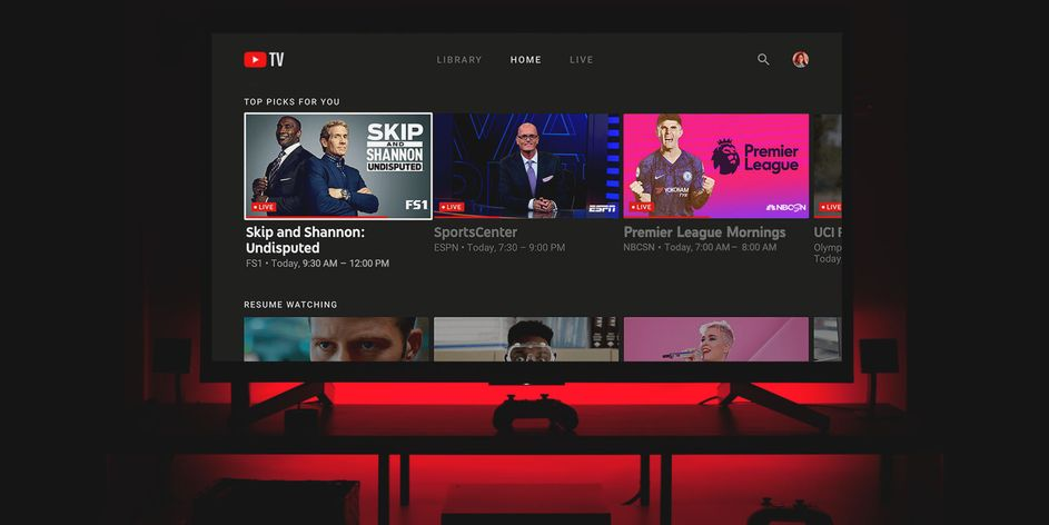You Can Now Watch Youtube Tv On Your Ps4