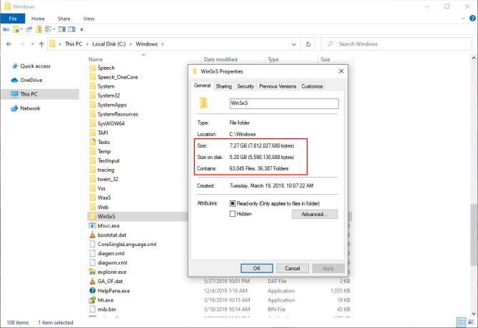 Cách Quản Lý Thư Mục WinSxS Khổng Lồ Trong Windows 10 - HUY AN PHÁT
