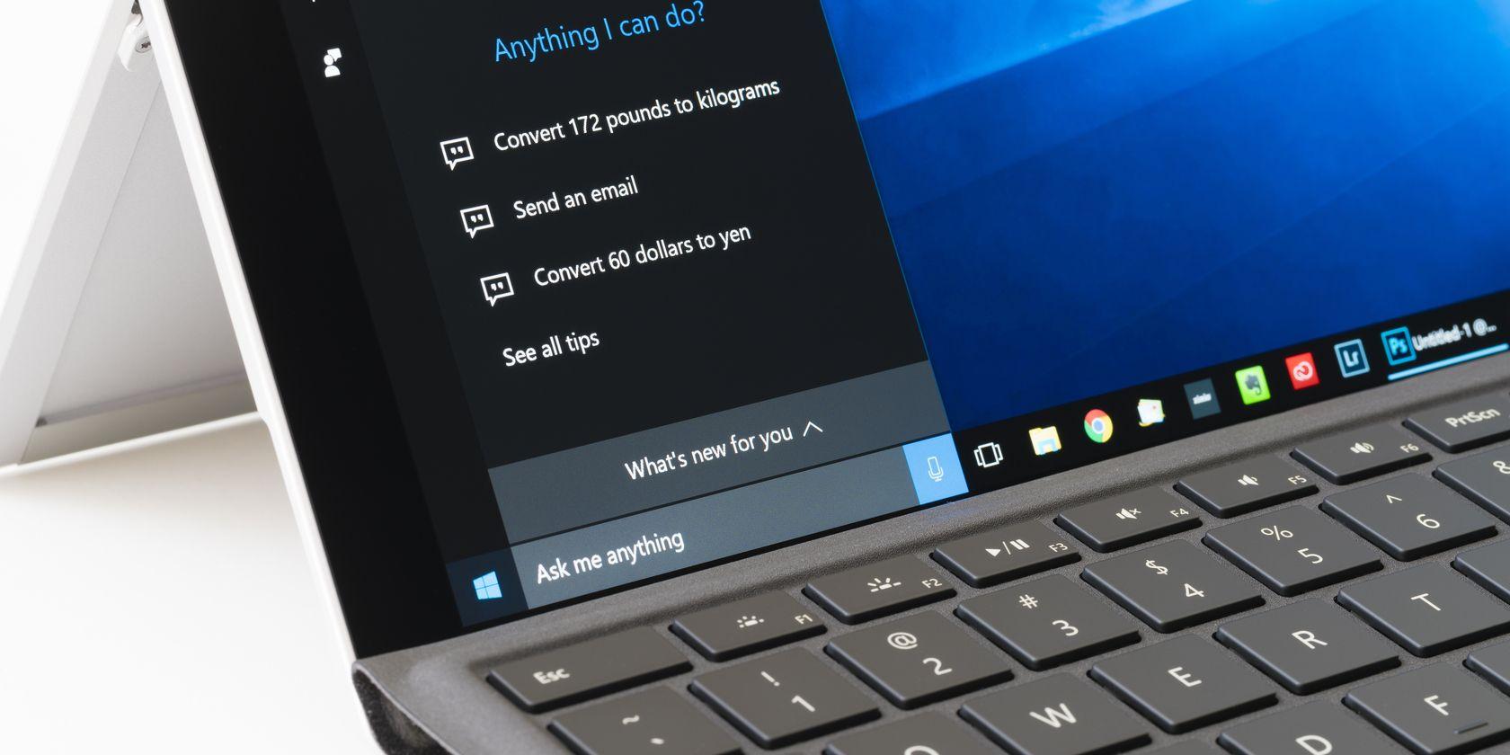 How to Disable Cortana on Windows 10