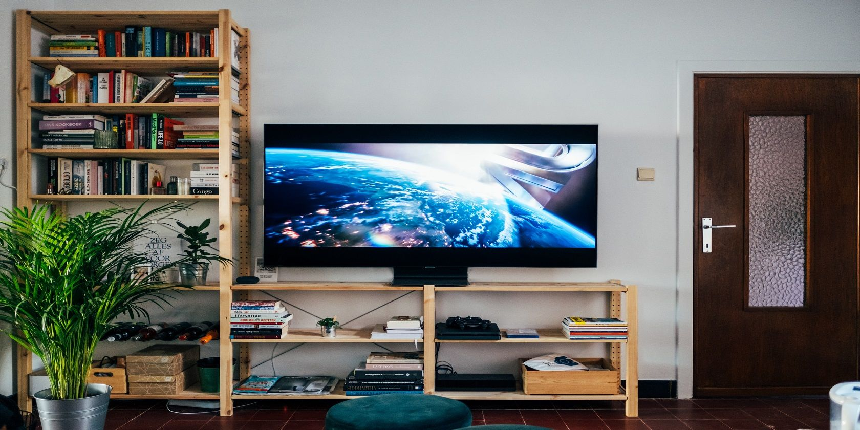15 Fun and Easy DIY TV Stands to Build This Spring