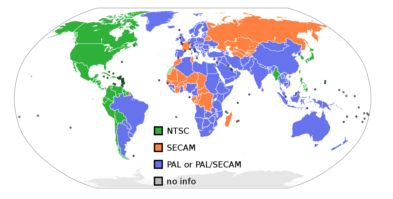 What Do NTSC and PAL Mean, and What Is the Difference?