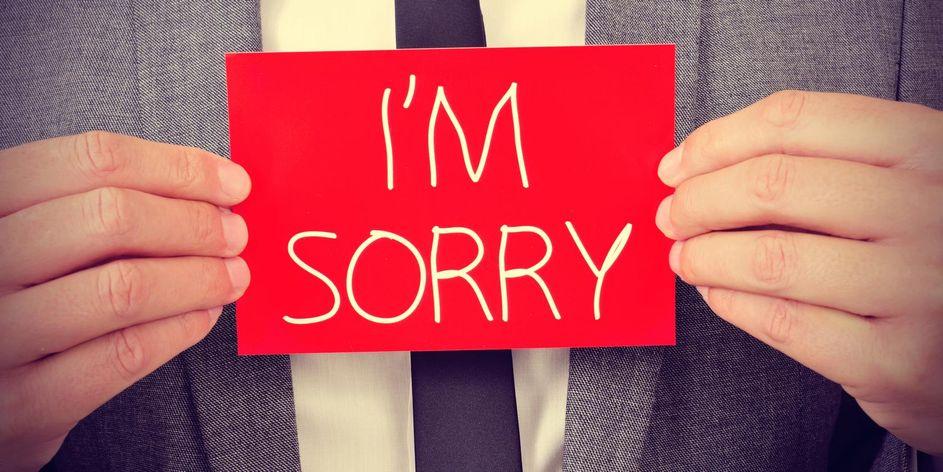 Ways to apologize
