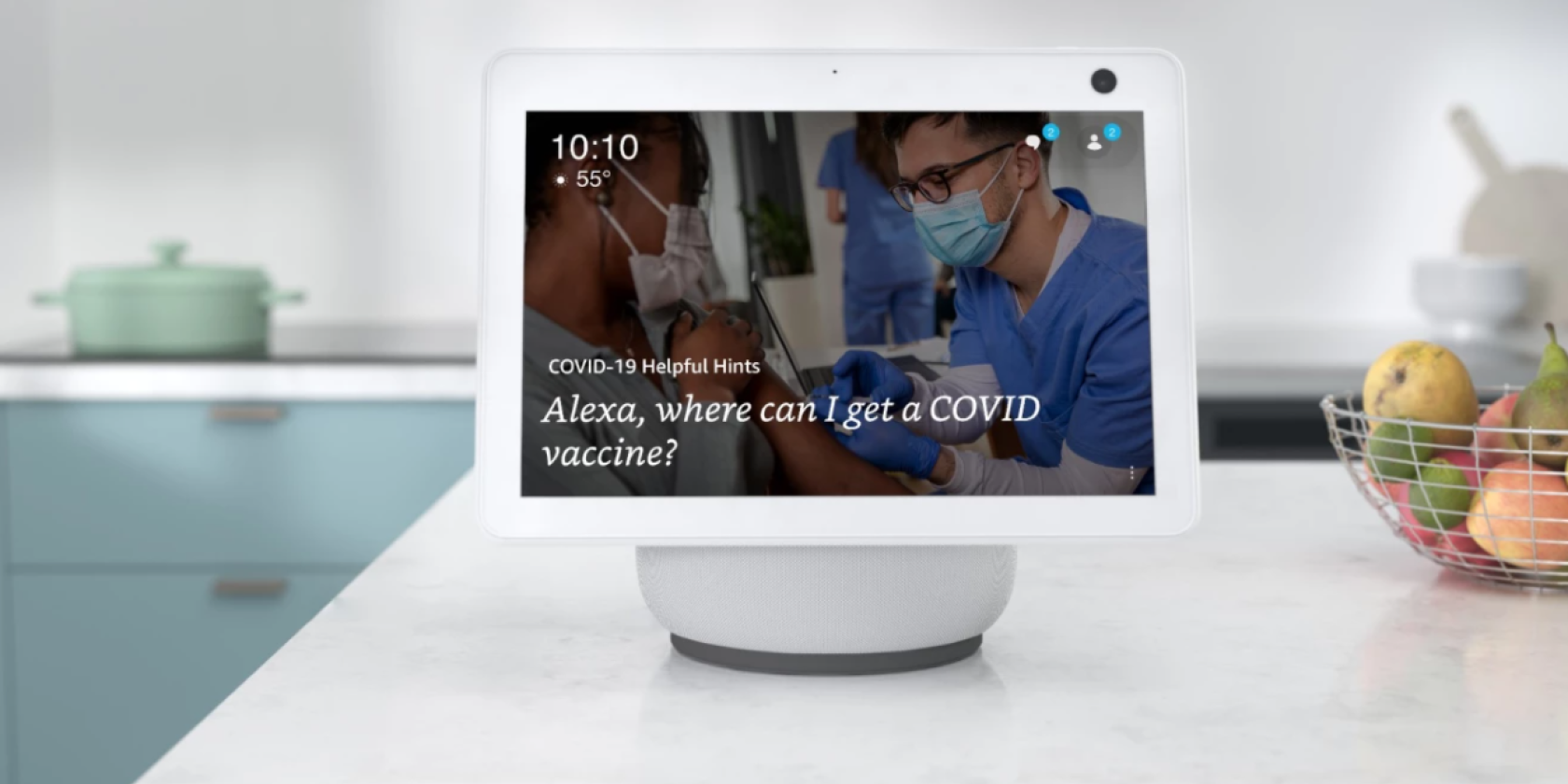 "You Can Now Ask Alexa, ""Where Can I Get a COVID Vaccine?"" thumbnail"