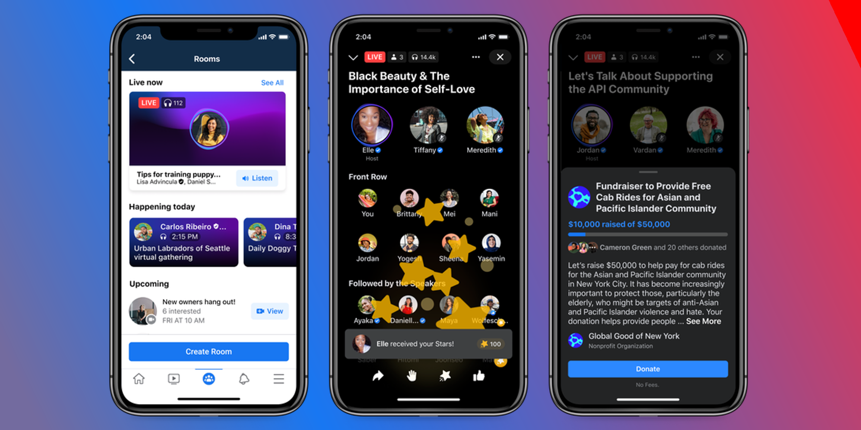 Facebook Introduces New Social Audio Features to Compete With Clubhouse thumbnail