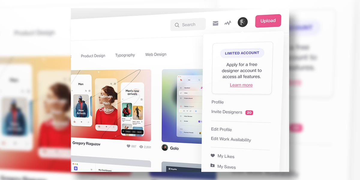 You Can Now Apply for a Designer Account on Dribbble