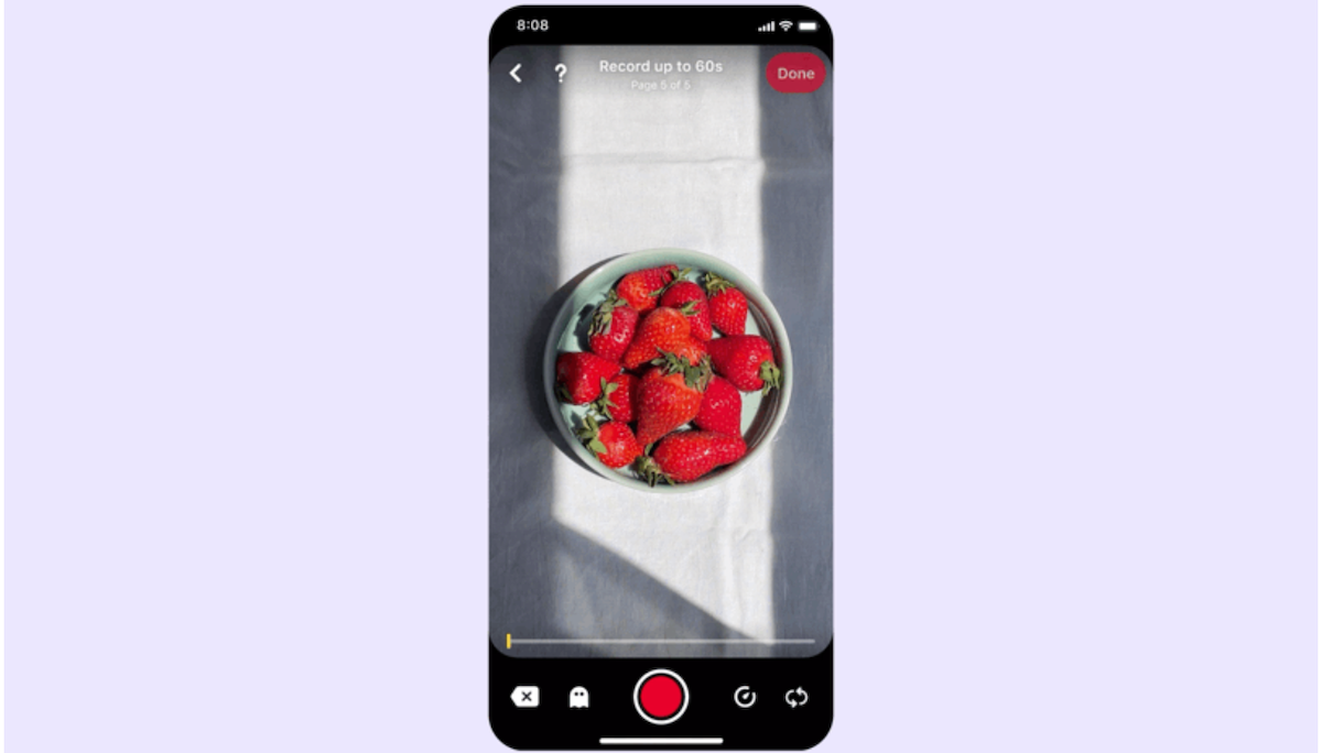 Pinterest Launches a Video-First Feature Called Idea Pins