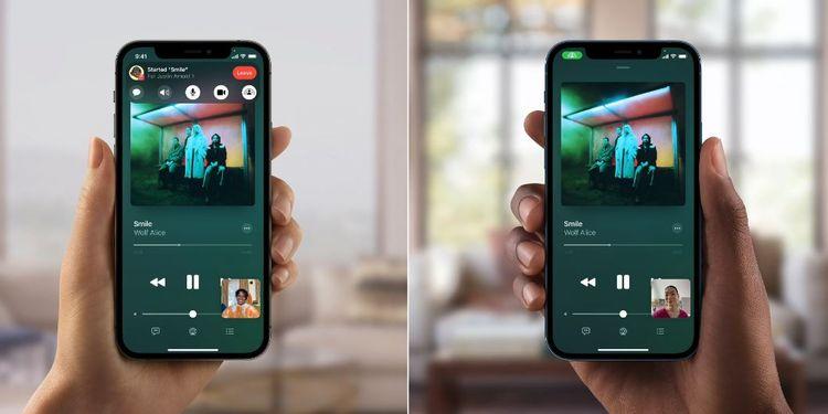 Música Apple SharePlay