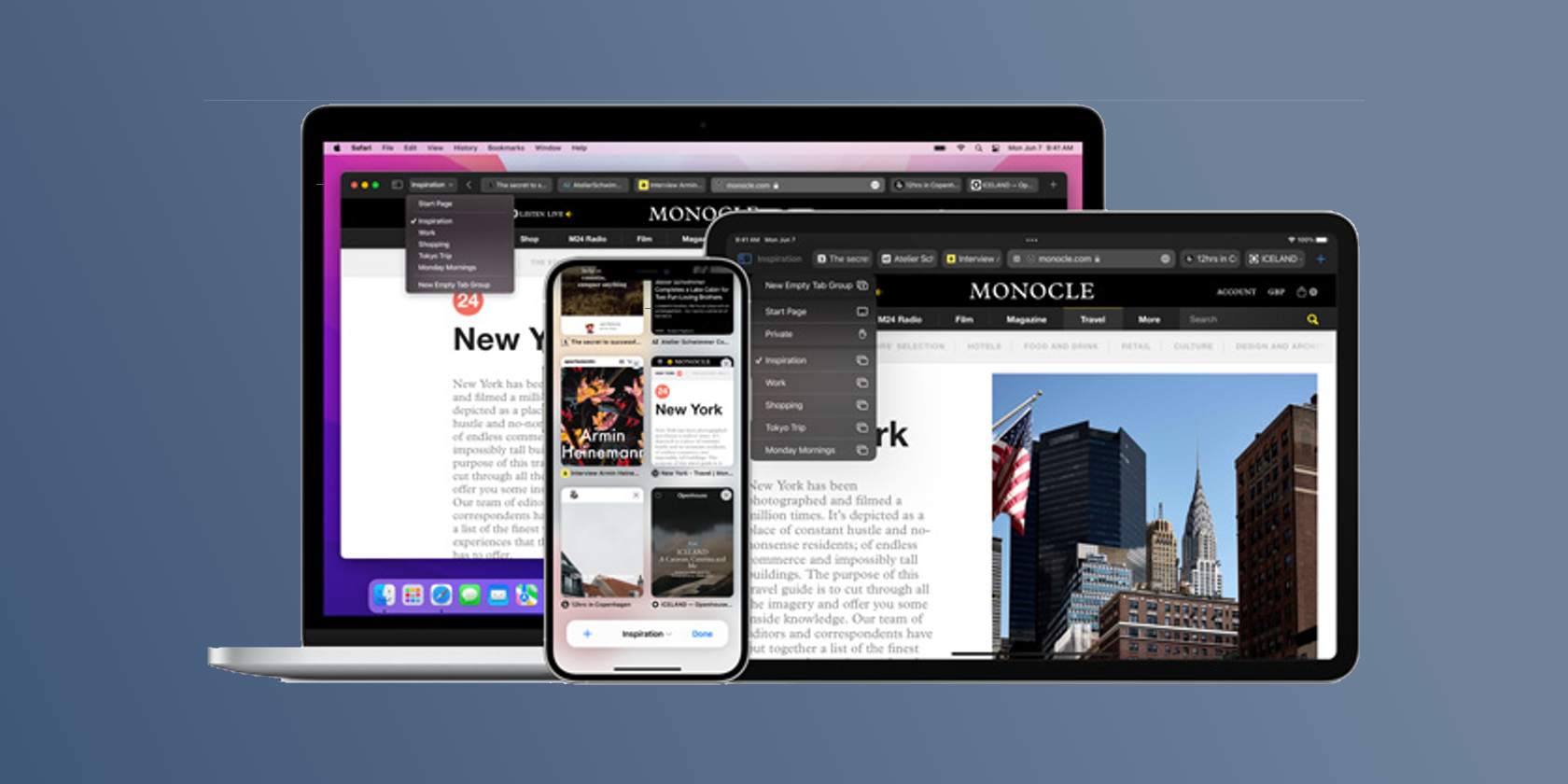 The Top 10 Safari Features Announced at WWDC21