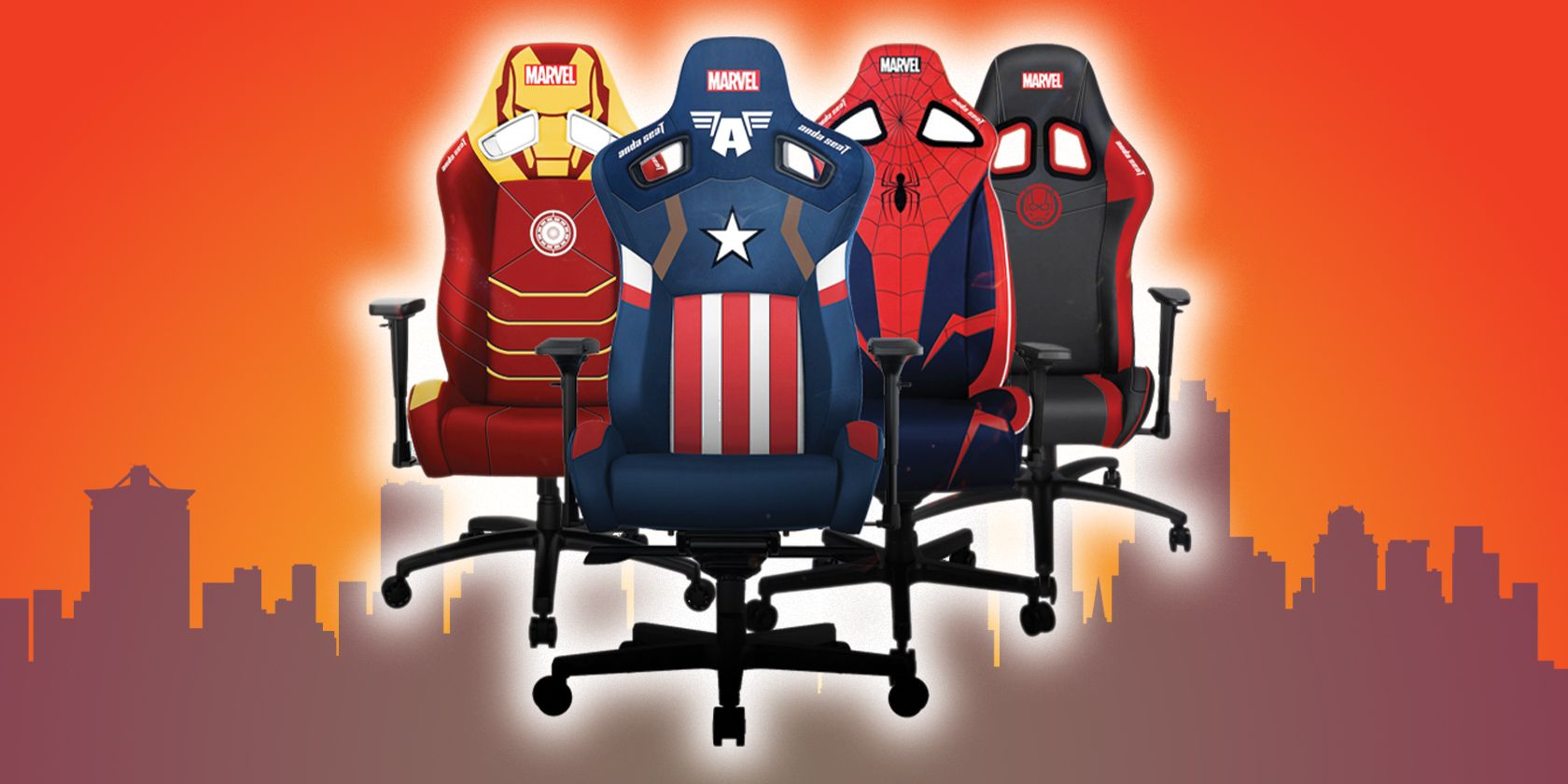 Assemble an Amazing Discount on AndaSeat's Avengers Gaming Chairs